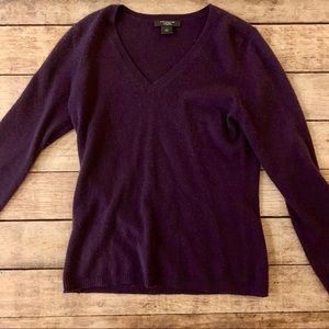 Ann Taylor cashmere sweater S